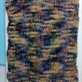 ショートピッチの段染め毛糸