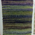 ミディアムピッチの段染め毛糸